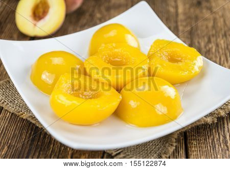 Preserved Peaches