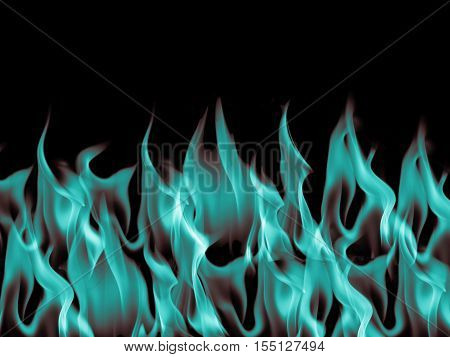 Blue Dark blaze Flame Fire Burn Background