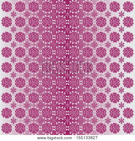 Red flowers. Abstract pattern. Background composition. Background composition for the decoration of fabrics, tapestries, packaging materials