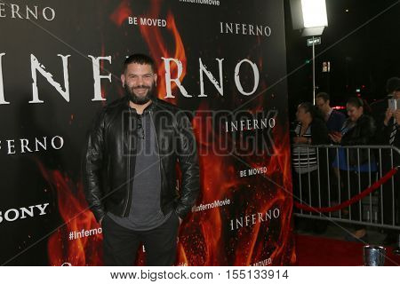 LOS ANGELES - OCT 25:  Guillermo Diaz at the
