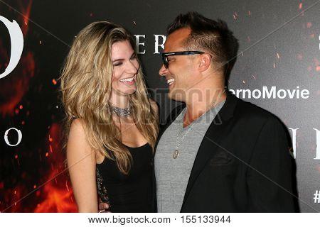 LOS ANGELES - OCT 25:  Rachel McCord, Rick Schirmer at the