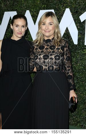 LOS ANGELES - NOV 2:  Katherine Power, Hillary Kerr at the Who What Wear 10th Anniversary #WWW10 Experience at Private Location on November 2, 2016 in Los Angeles, CA