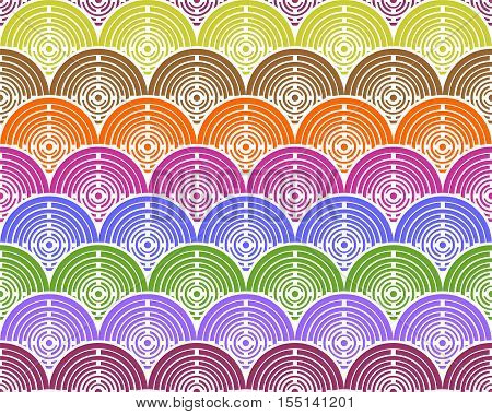 colorful circles background that you can compose endlessly