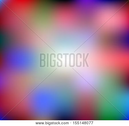 Vector colored background soft blurry lights illustration smooth visual art