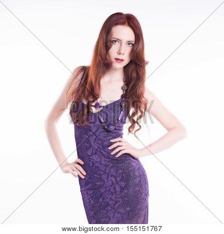 Sexy Fashion Model Posing
