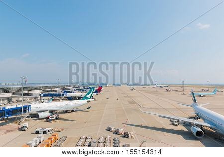 Chubu Centrair International Airport In Japan.