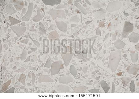 terrazzo floor texture polished stone pattern wall and color surface marble for background