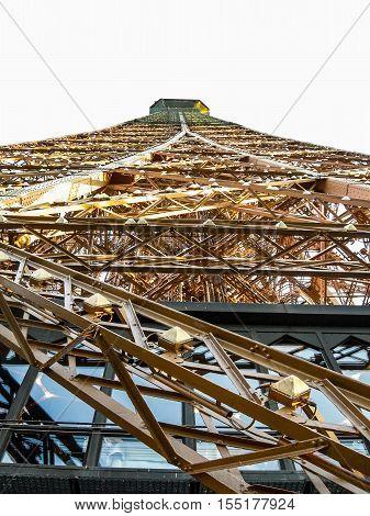 Hdr Tour Eiffel Tower Paris