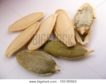 For the pumpkin seeds grown in natural and organic barnyard