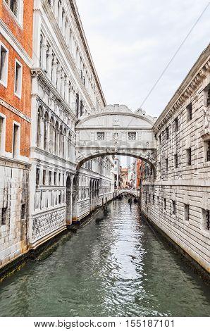 Hdr Bridge Of Sighs Venice