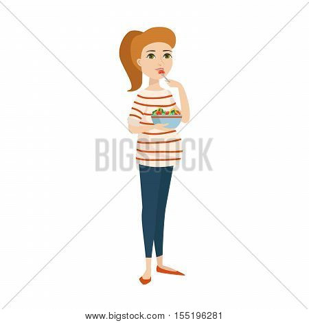 Young pregnant woman, pregnancy female expecting beautiful future mother character vector. Pregnant woman lifestyle and lifestyle happy mathernity woman. Love parent motherhood.