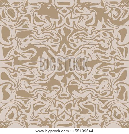 Light beige seamless vector texture, marble imitation, repeating texture, stone, granite surface, tile print decorative texture. Vector illustration
