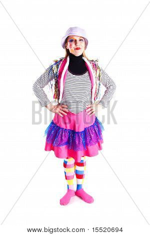 A Girl In A Bright Dress Sailor