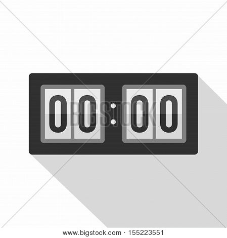 Scoreboard icon. Flat illustration of scoreboard vector icon for web design