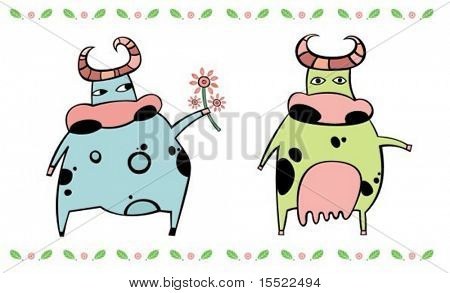 cute cows