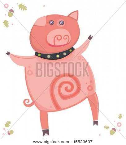 Cute little  piglet 3. To see similar, please VISIT MY GALLERY.