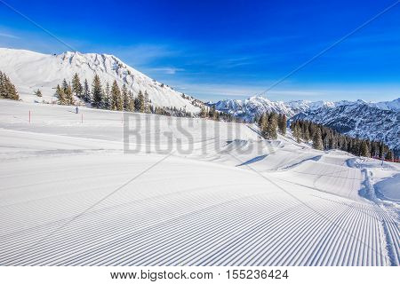 Fellhorn Ski Resort, Bavarian Alps, Obersdorf, Germany