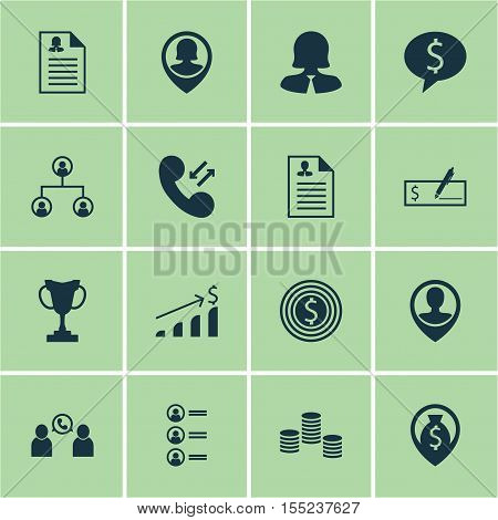Set Of Hr Icons On Business Woman, Job Applicants And Bank Payment Topics. Editable Vector Illustrat