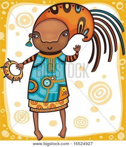 Ethnic  girl 1.  To see similar, please VISIT MY PORTFOLIO