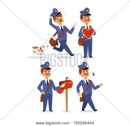 Postman character vector set.