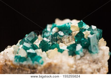 Mineral specimen crystal. the natural geology beauty