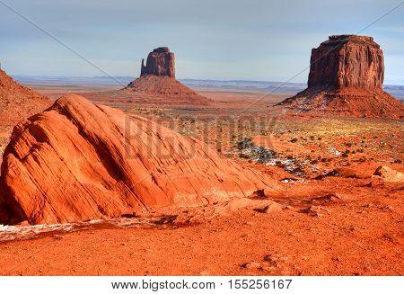 Monument Valley north east Arizona Navajo Nation