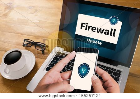 Firewall Antivirus Alert Protection Security And Cyber Security Protection Firewall