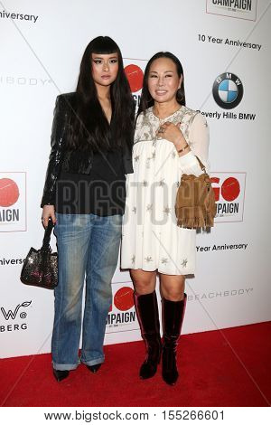 LOS ANGELES - NOV 5:  Asia Chow, Eva Chow at the 10th Annual GO Campaign Gala at the Manuela at Hauser Wirth & Schimmel on November 5, 2016 in Los Angeles, CA
