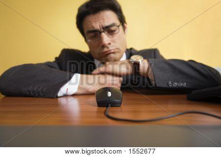 Annoyed Businessman