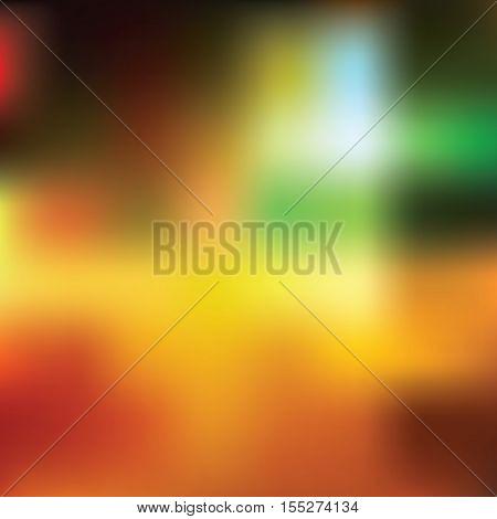 Vector color gradient background soft blurry lights vector illustration