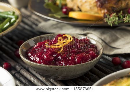 Homemade Thanksgiving Cranberry Sauce