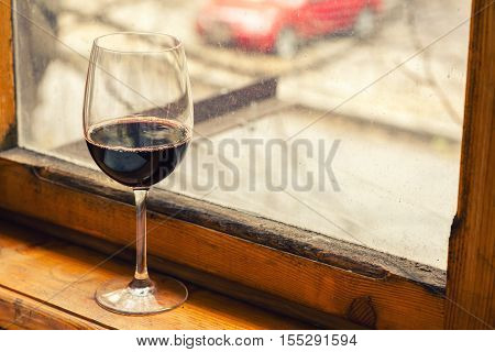 Autumn Red Wine