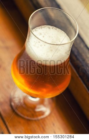 Autumn Beer Glass
