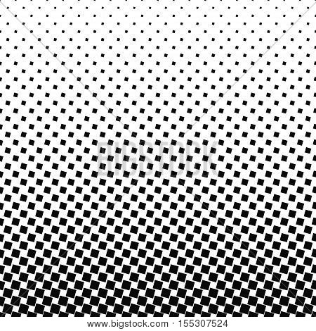 Abstract black and white angular square pattern design background