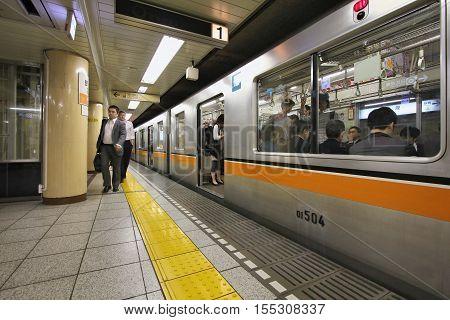 Tokyo Metro Train