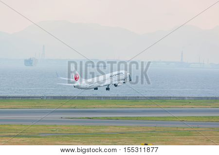 Japan Airlines In Chubu Centrair International Airport Japan