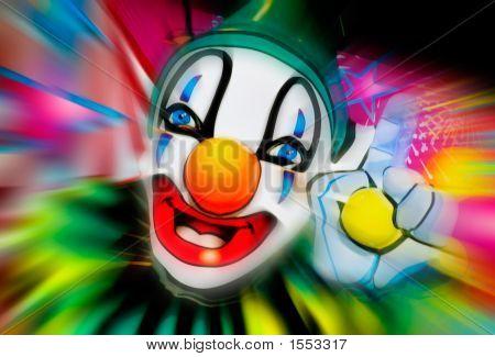 Face Of A Clown