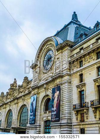Hdr Quai D Orsai Paris