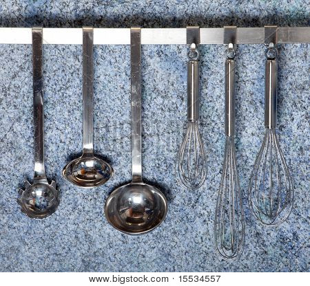 Kitchen Tools Hanging