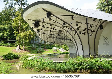 The Shaw Foundation Symphony Stage In Singapore Botanic Gardens