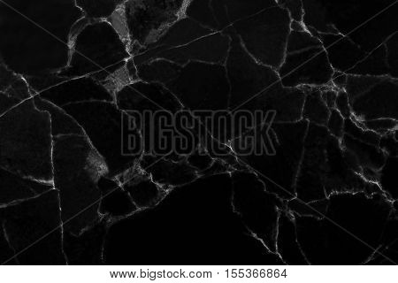 Black marble pattern texture background. abstract natural marble black and white for design