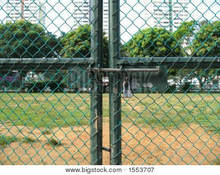 Locked Out Of The School Field