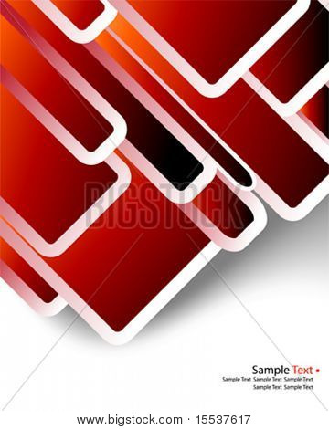 vector abstract round corners