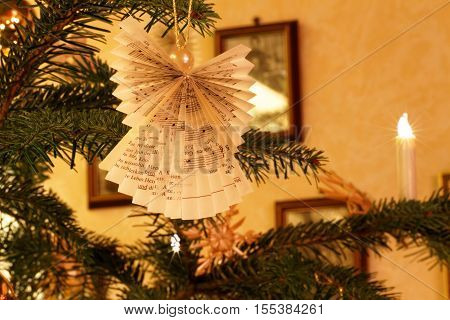Christmas Home Impression with Christmas Tree Decoration