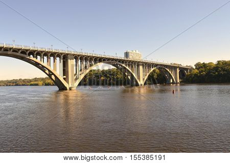 The Ford Parkway Bridge in Minneapolis Minnesota