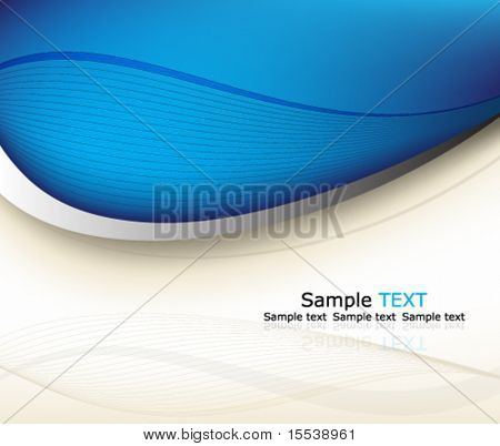 Eps10 blue background design