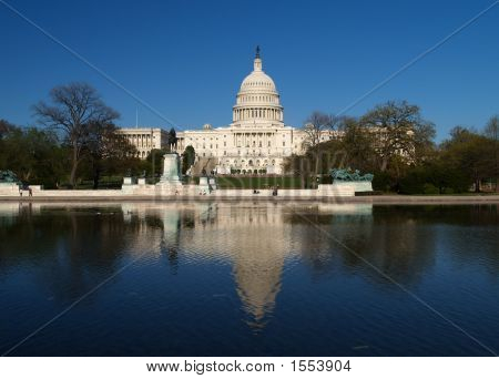 The Capitol Building In Washington D.C.