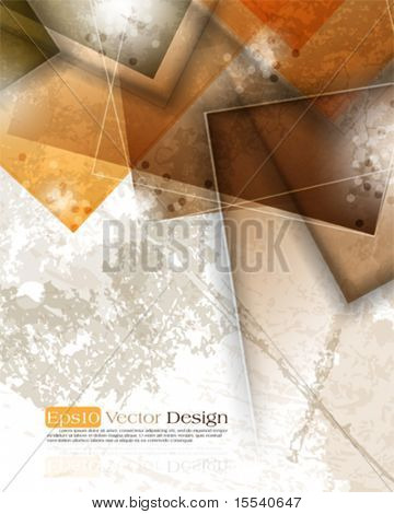 vintage corporate background. eps10 vector