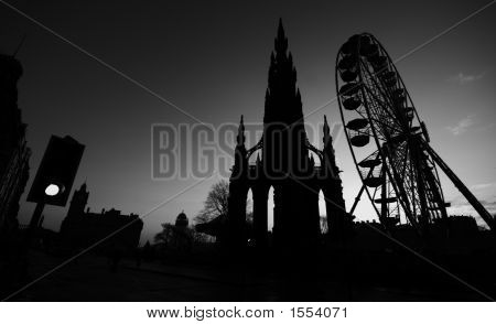 Edinburgh Silouhette