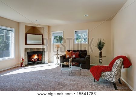 Typical American Living Room Interior Design